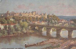 Cite De Carcassonne , Vue Generale , France , 00-10s ; TUCK