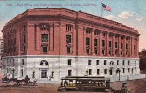 Post Office And Federal Building Los Angeles California