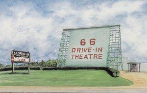 RT 66 ; 66 Drive-in Theatre , CARTHAGE , Missouri , 1997