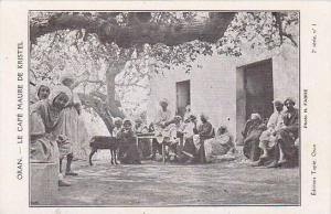 ORAN Algeria , 00-10s ; Le Cafe Maure de Kristel