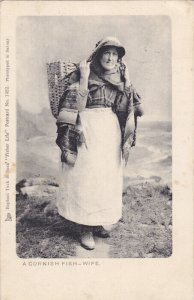 A Cornish Fish-Wife , England , PU-1906 ; TUCK