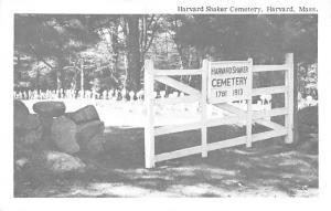 Harvard Cemetery Harvard Massachusetts MA USA Shaker Unused