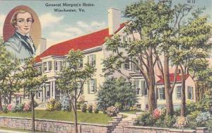 Virginia Winchester General Morgans Home