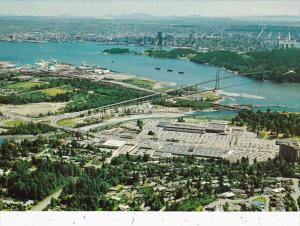Canada Vancouver Lions Gate Bridge Stanley Park and Harbour