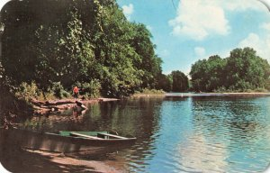Postcard St Joseph River Indiana