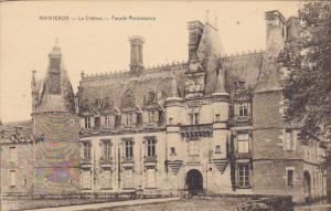 France Maintenon Le Chateau Facade Renaissance