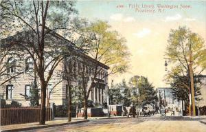 Rhode Island  Providence Public Library, Washington Street   DPO South Scituate