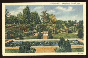 Lincoln, Nebraska/NE Postcard, Rock Garden In Antelope Park