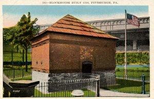 PA - Pittsburgh. Blockhouse