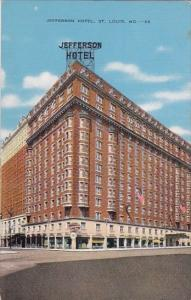 Jefferson Hotel Saint Louis Missouri