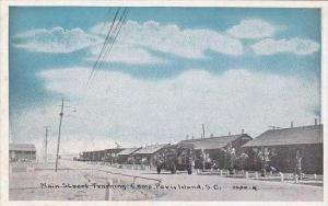 South Carolina Paris Island Main Street TRaining Camp