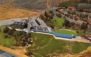 Rancho Palos Verdes California~Aerial View Wayfarers' Chapel~1959 PC