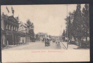South Africa Postcard - Longmarket Street, Pietermaritzburg   DC2571