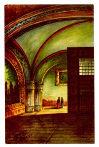 Mexico - Tepotzotlan. Church Interior.  Artist: F. Lugo