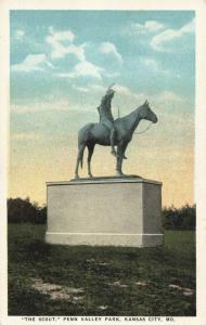 Postcard Penn Valley Park The Scout Kansas City Missouri