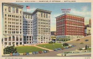 SEATTLE , Washington , 1930-40s ; Hotel Holland