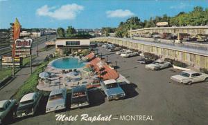 Motel Raphael , Montreal , Quebec , 1960s