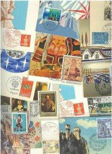 m178 modern postcards Philatelic Maximum TWENTY