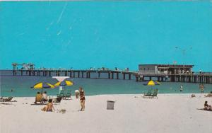 Municipal Pier, White Sand Beach, Clearwater, Florida, United States, 40s-60s