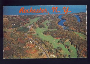 Rochester, New York/NY Postcard, Aerial View Of Durand-Eastman Park