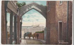Kent; York Gate, Broadstairs PPC, By Hartmann, 1908 PMK