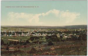 Aerial view of Fredericton N.B.