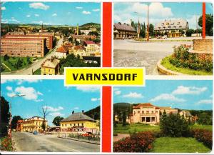 Czech Republic, VARNSDORF, used Postcard