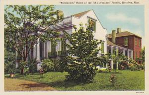 Richmond, Home of the John Marshall Family, Natchez, Mississippi,  30-40s