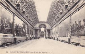 France Versailles Galerie des Batailles Palais de Versailles