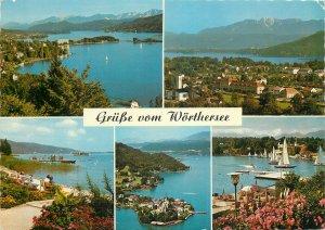 Postcard Austria Krumpendorf Karnten multi view