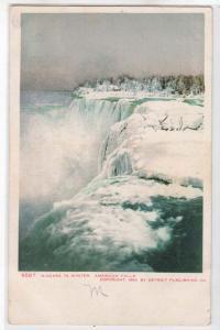 Niagara Falls - American Falls in Winte