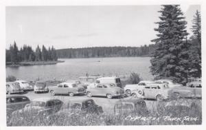 RP: CYPRESS PARK, Saskatchewan , Canada , 1930-40s; Parking Lot