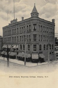 ALBANY , New York , 1909 ; Albany Business College