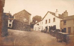 Ambleside England Street Scene Real Photo Antique Postcard J81229