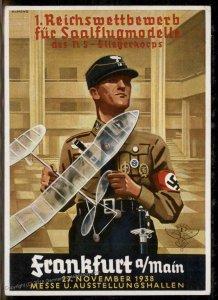 3rd Reich Reichswettbewerbe NSFK Model Competition Private PPC Propaganda  93377