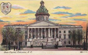 State Capitol (Glitter Detail), Columbia, South Carolina, 1900-1910s