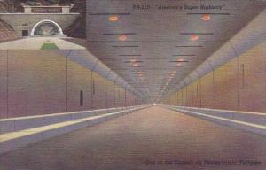 Americas Super Highway One Of The Tennls On Pennsylvania Turnpike Pennsylvania