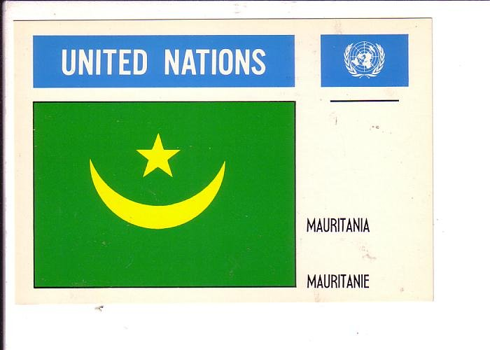 Mauritania Flag, United Nations