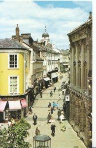Norfolk Postcard - London Street Shopping Precinct - Norwich - Ref 1007A