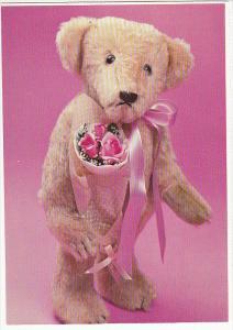Handmade Silly Basil Teddy Bear Crafted by Linda Speigel