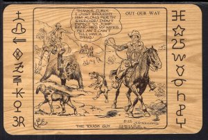 The Tough Guy J R Williams Western Comic