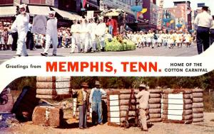 TN - Memphis. Home of the Cotton Carnival