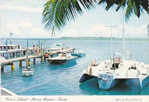 Guam Coco's Island Boats At Port Merizo Marina