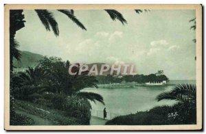 Old Postcard Beaulieu Garden Quai du Midi