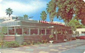 Clearwater FL Park Terrace Grill Diner Restaurant Postcard