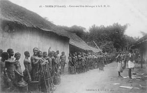 Gabon Samba (N'Gounie) Caravane libre Ashangos S.H.O.
