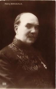 CPA Henry Bordeaux écrivain writer (606988)
