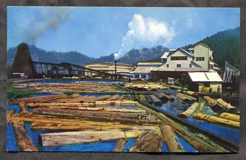 dc513 - REDWOOD EMPIRE Ca 1970s Lumber Mill