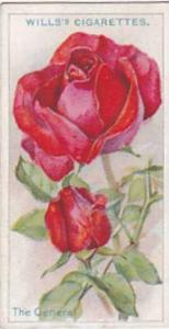 Wills Vintage Cigarette Card Roses 1926 No 13 The General