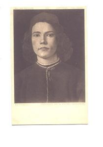Botticelli, Portrait of a Young Man, 626, Fine Art Pub, National Gallery